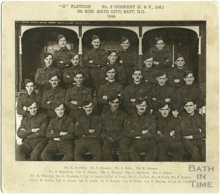 G Platoon, No. 2 Company, Stothert & Pitt Home Guard 1944