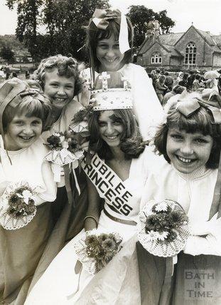 The Bathampton Jubilee Princess, June 1977