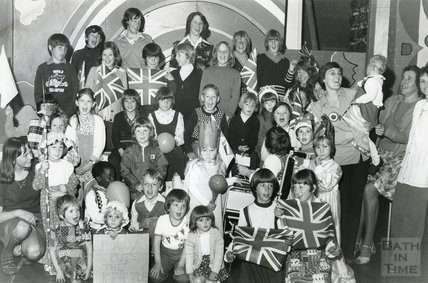 A Silver Jubilee Party, Corston View, Odd Down, Bath, June 1977