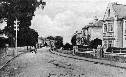 Newbridge Hill, Weston, Bath, 1910