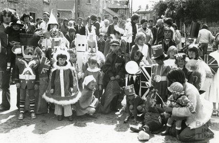 Silver Jubilee Fancy Dress, Corston, June 1977