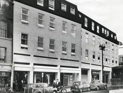 The Harvey Block High Street, Bath, 1967