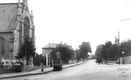 Newbridge Hill, Weston, Bath, c.1915