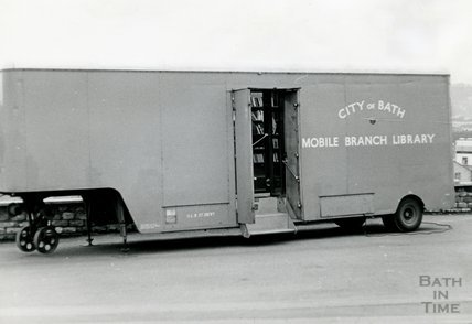 The city of Bath Mobile Branch Library c.1974