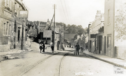 Batheaston High Street, c.1905