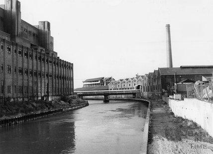 Bath's gasworks, Lower Weston, c.1971