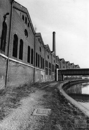 Bath's gasworks, 16 February 1972