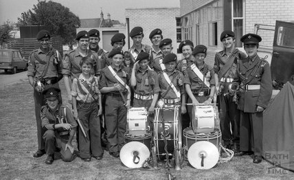Somervale School fete, Midsomer Norton, 3 July 1976