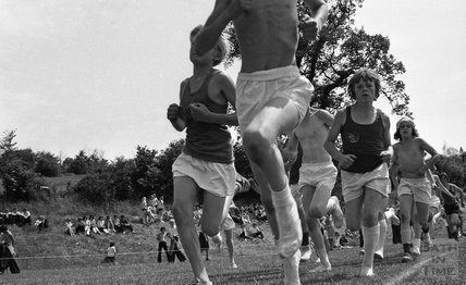 The 800 metres at the Somervale School Sports Day, 25 June 1976