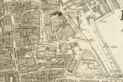 The Orange Grove area 1:2,500 OS map 1904 - detail