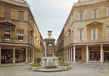 The mineral water fountain, Bath Street, c.1980s