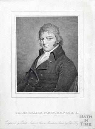 Caleb Hiller Parry, M.D. F.R.S. (1755-1822) 1804