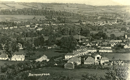 View of Bathampton, c.1920