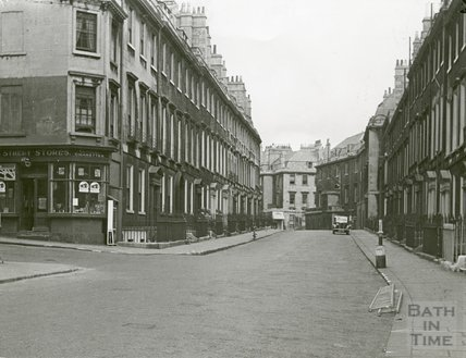 Rivers Street, Bath,  looking east c.1930s?