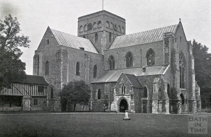 The Chapel of St Cross's Hospital in Winchester, c.1930s