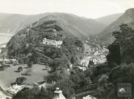 View of Lynmouth from Lynton, c.1930s