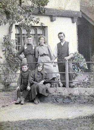 An unidentified family portrait, c.1900