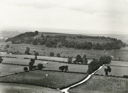 The ancient site of Cadbury Castle, Somersetshire c.1920s