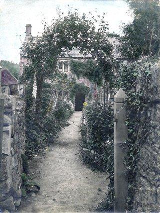 Inglescombe tea gardens, Englishcombe, c.1930s