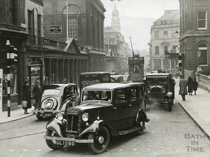 Stall Street, Bath c.1930s