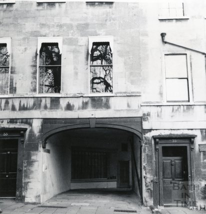 St James Place, off St James Square, Bath April 1964