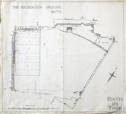 Recreation Ground plan - AJ Taylor c.1920s