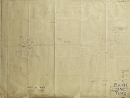 Kingston Bath - proposed ventilation - sections & plan - Gerrard Taylor & Partners April 1956