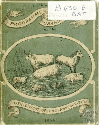 Programme of the Grand Meeting of the Bath and West of England Society, 1854