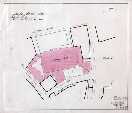 Theatre Royal block plan - no.5 - AJ Taylor September 1915