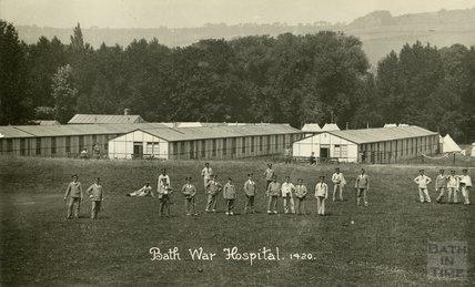 General View, Bath War Hospital, Combe Park, Bath c.1916