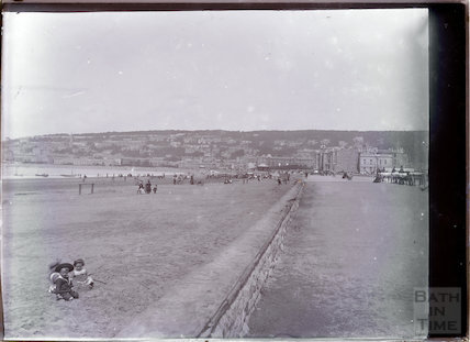 Weston-super-Mare seafront, c.1902