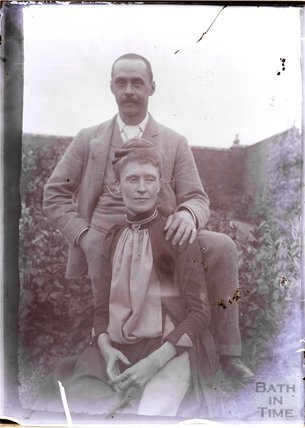 Unidentified lady and gentleman, c.1902