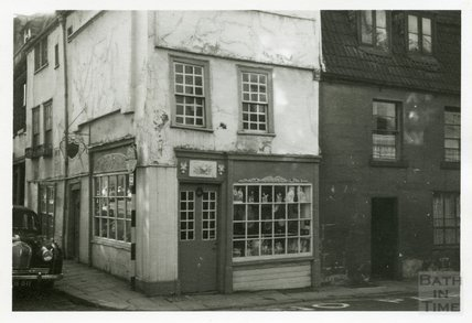 Frederick Symes Antiques Dealer, 1 Barton Street 1953-55