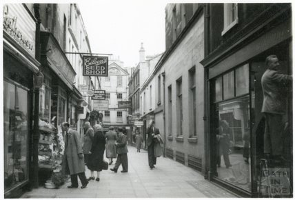Northumberland Place, Bath, 1953-55