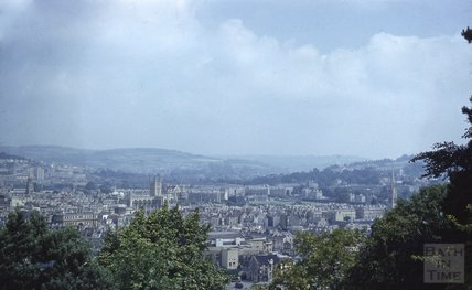 View of Bath from Beechen Cliff, 1953-55