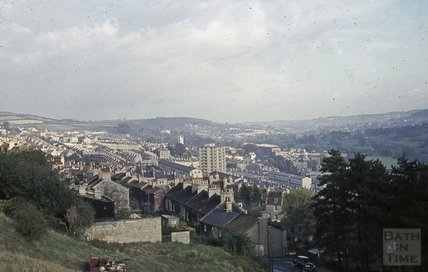Bath from Camden, 1963