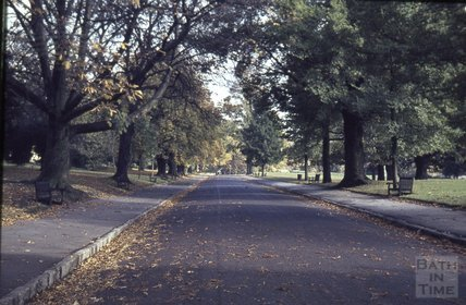 Royal Avenue from Royal Victoria Park, 1963