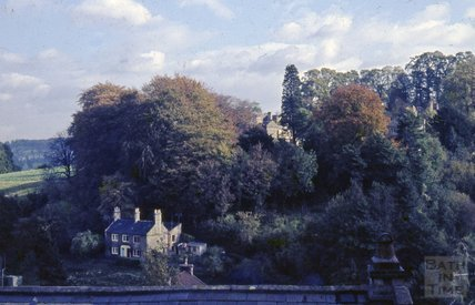 Entry Hill / Lyncombe Vale from Wellsway 1963