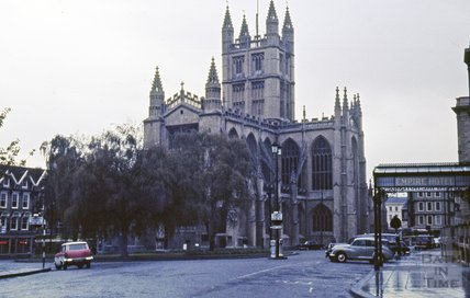 Bath Abbey, 1963