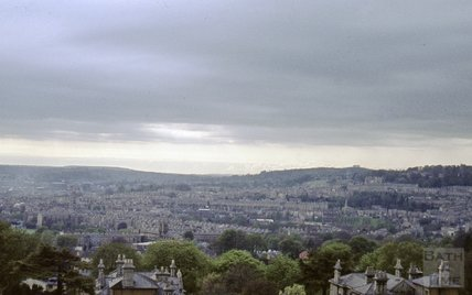 Bath Panorama from North Road, 1963