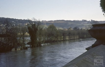 Bath Floods, December 1963