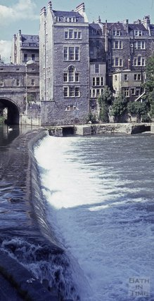 The Old Weir, Pulteney Bridge, 1966