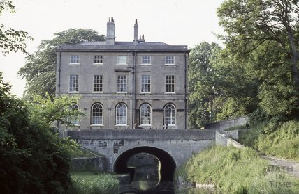 Cleveland House over the Kennet and Avon Canal, Bath 1970