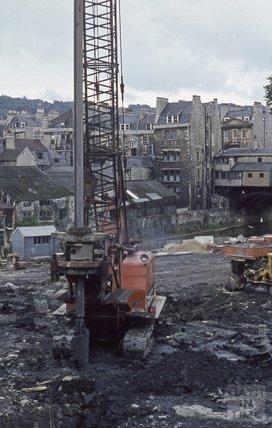 Walcot Street development, 1971