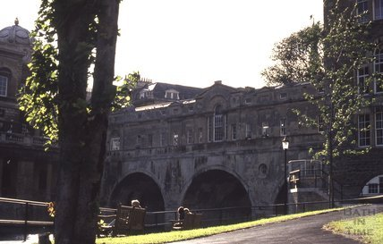 Pulteney Bridge in shadow, 1972