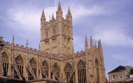 Bath Abbey, 1973