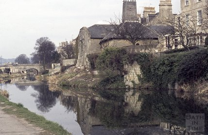 Sydney Maltings, Kennet and Avon Canal, Bath 1973