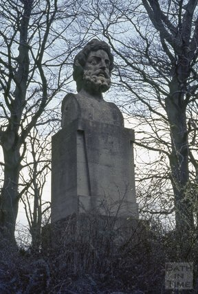 Colossal Stone Head, Royal Victoria Park, 1973