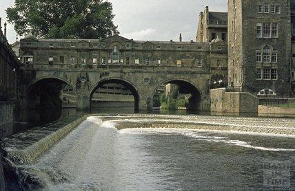 Pulteney Weir, 1973