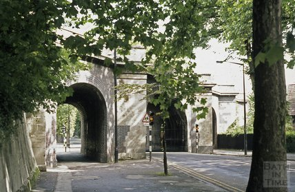 Brunel's Railway Bridge, Pulteney Road, 1973